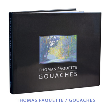 Thomas Paquette Gouaches book